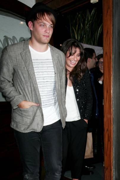 Lea Michele & Theo Stockman