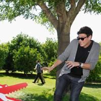 Cory Monteith at Coachella 2012