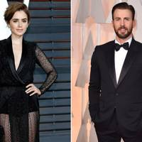 Chris Evans & Lily Collins