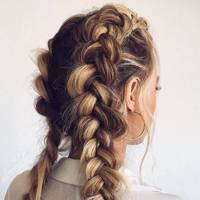 Bigged-up braids