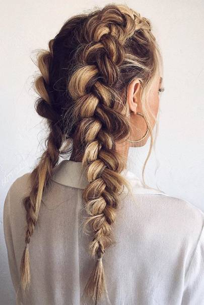 Bigged-up braids