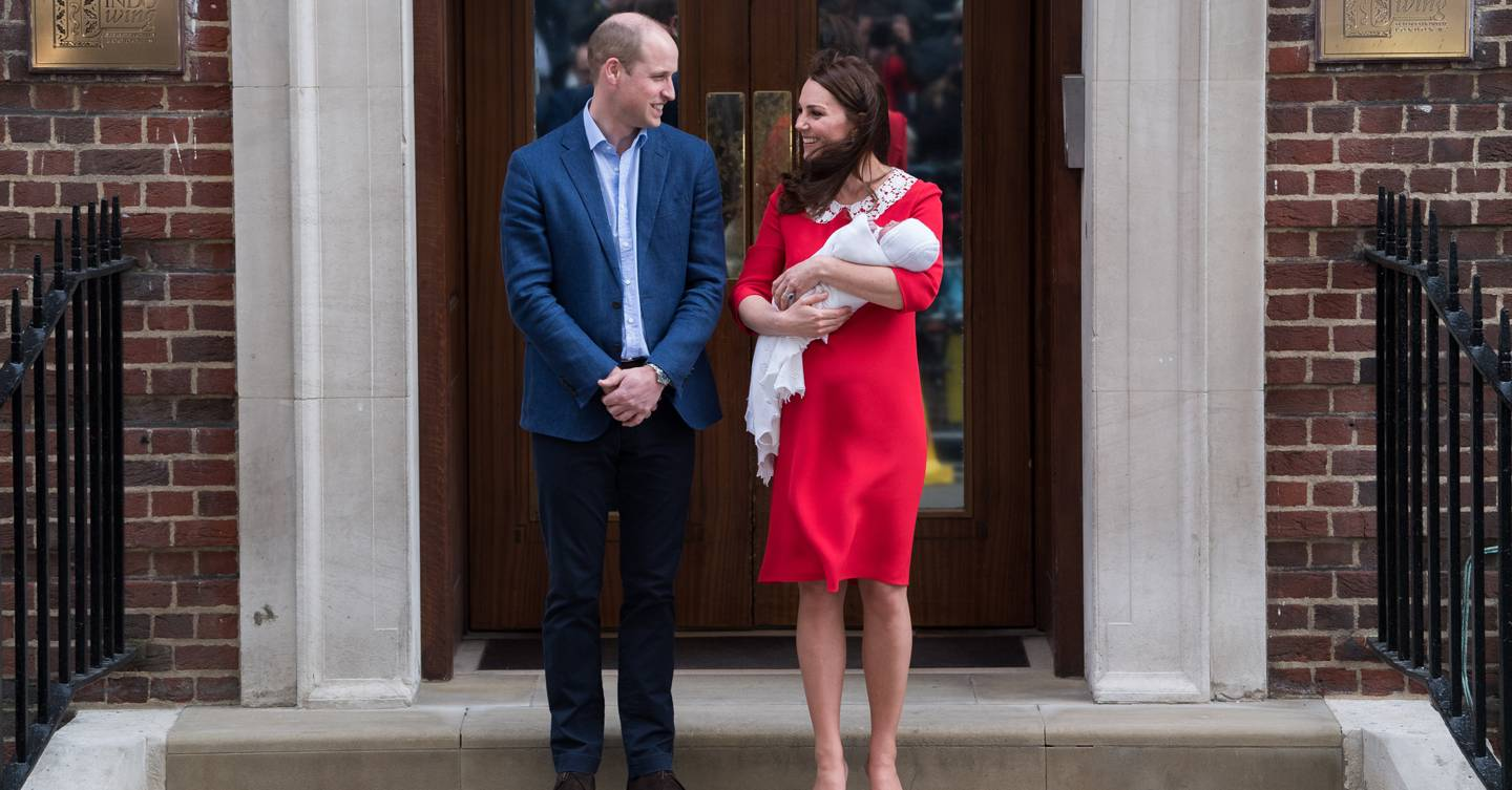 8004583bcfe8 Kate Middleton  Why The Duchess Of Cambridge Wore Red To Introduce ...