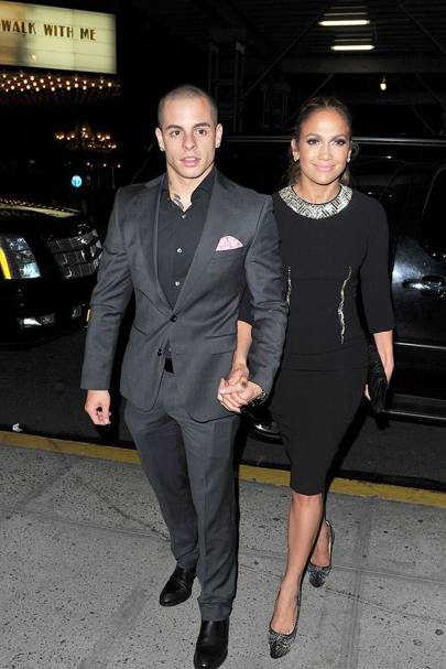 August: Jennifer Lopez and Casper Smart