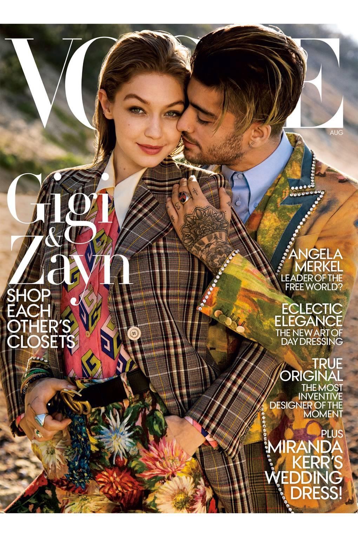Gigi Hadid Zayn Malik Us Vogue Cover Glamour Uk