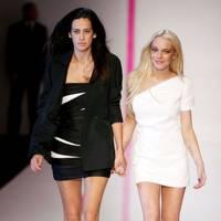 Lindsay Lohan's 'creative' input at Emanuel Ungaro