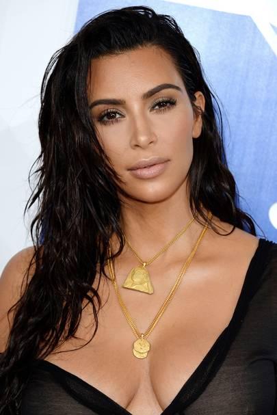Kim Kardashian Hair: Changing Make Up Hairstyles Look Book ...