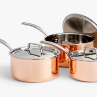 Best cookware sets: the rose gold pots
