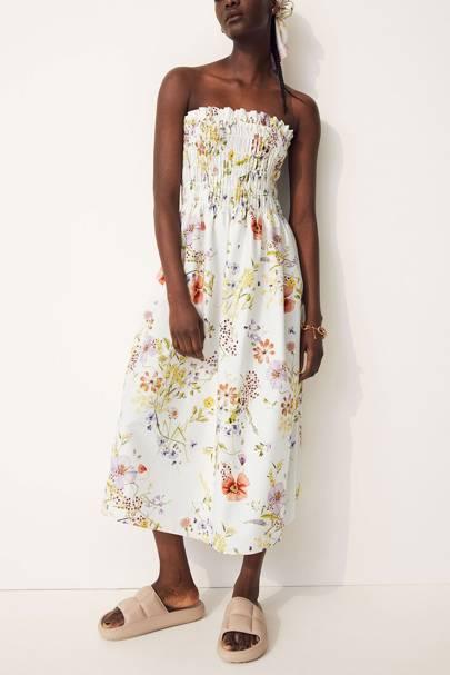 Drouser trend: bandeau dress