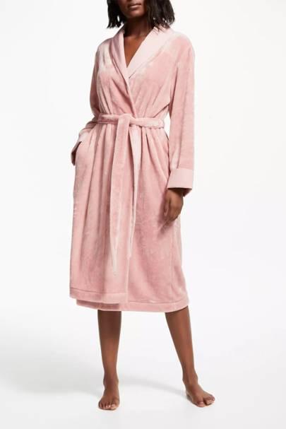 Bridesmaid robes: with fleece