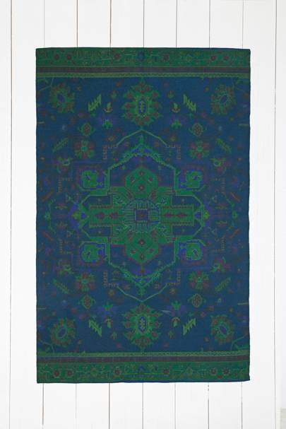 Overdyed rug, £65 at Urban Outfitters