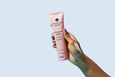 Glossybox Skincare: the exfoliator