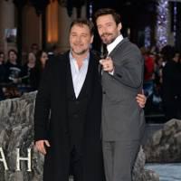 Russell Crowe & Hugh Jackman