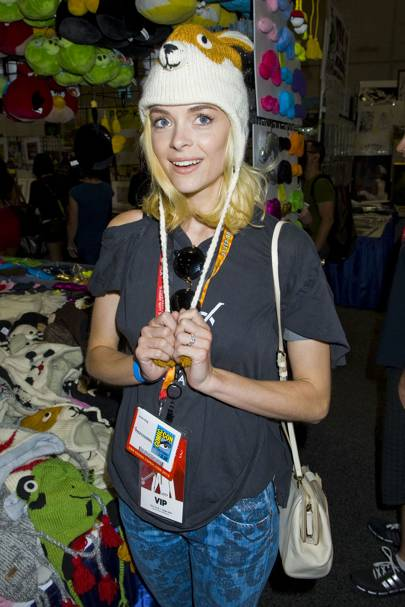 Jaime King at Comic-Con 2012