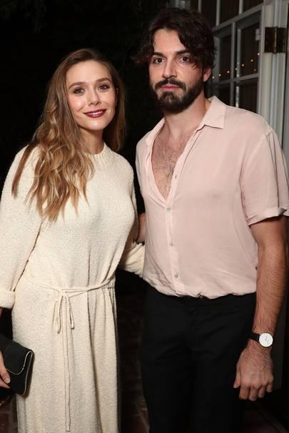Elizabeth Olsen and Robbie Barnett