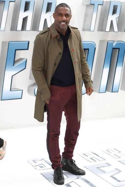 9. Idris Elba (New Entry)