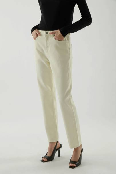 Best straight leg jeans: Fresh colour