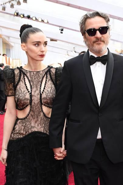 Rooney Mara & Joaquin Phoenix