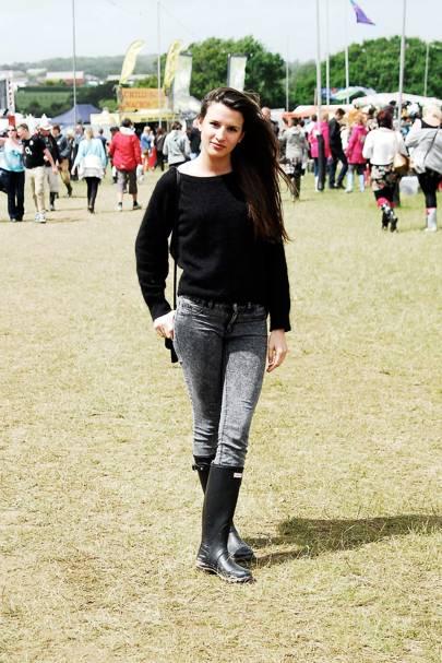 Lucia Balcazat, Student, Isle of Wight Festival