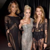 Jourdan Dunn, Rita Ora & Cara Delevingne