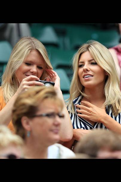 Mollie King & her sister