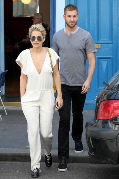 May: Rita Ora & Calvin Harris