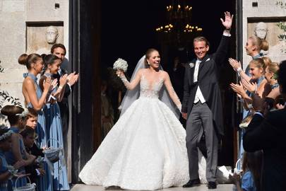 Swarovski Heiress S Wedding Is As Blingy Fabulous You D Expect