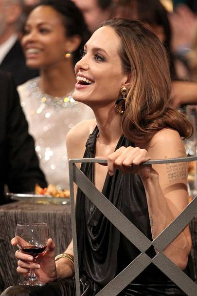 Angelina Jolie at the SAGs 2012