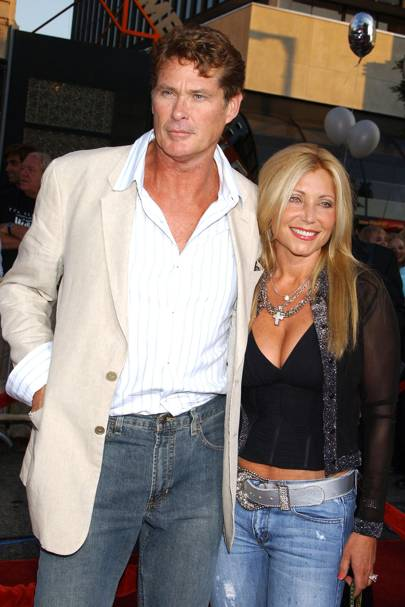 No 27: David Hasselhoff and Pamela Bach