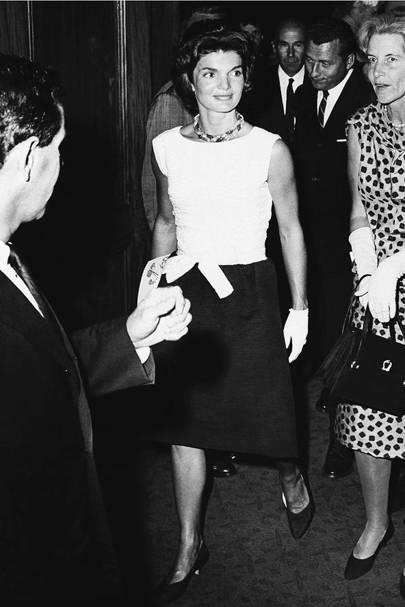 Celebrity fashion and style icon: Jackie Kennedy Onassis
