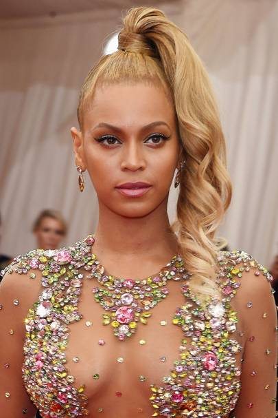 Outstanding Beyonce Knowles Natural Hair Hairstyles Amp Makeup Pictures 2015 Short Hairstyles For Black Women Fulllsitofus