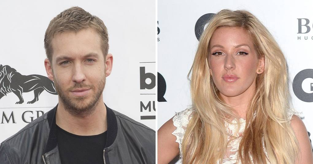 calvin harris ellie goulding outside song music video glamour uk. Black Bedroom Furniture Sets. Home Design Ideas