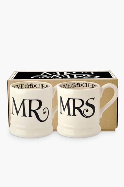 The matching mugs