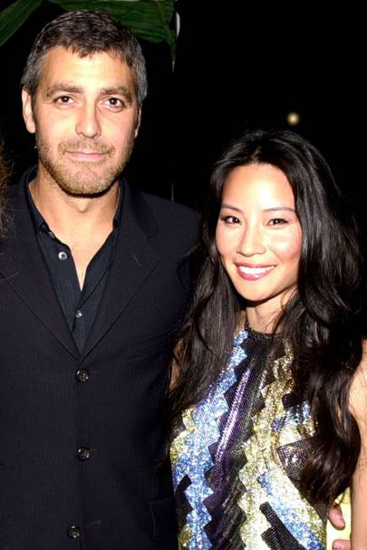 Lucy Liu and George Clooney
