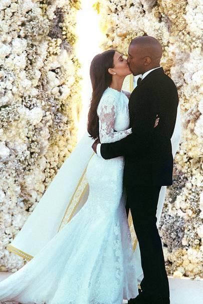 Kim Kardashian + Kanye West = 60%