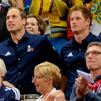 Sir Steve Redgrave, Denise Lewis, Prince William & Prince Harry