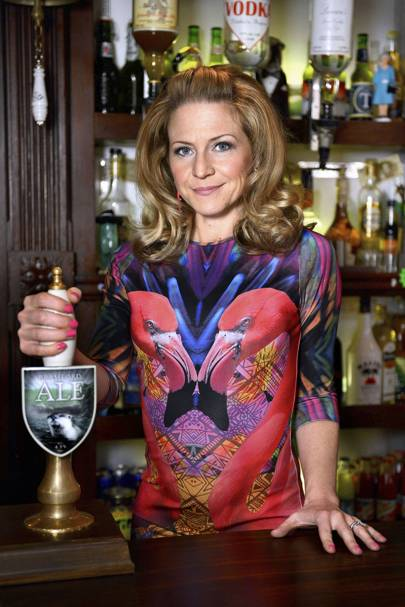 Kellie Bright as Linda Carter - Eastenders