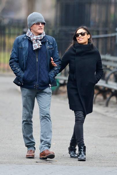 Rosario Dawson & Danny Boyle