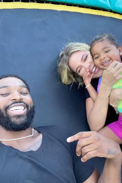 The Kardashian-Thompson Family