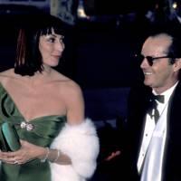 Anjelica Huston and Jack Nicholson, 1986