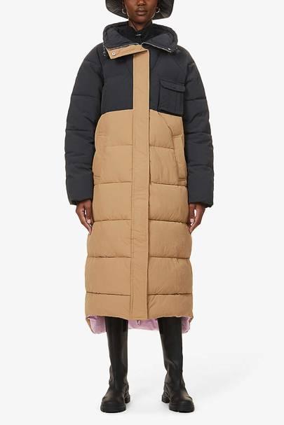Ganni duvet coat