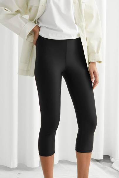 The three-quarter-length leggings