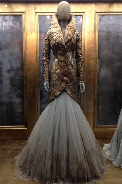 Step inside the Alexander McQueen exhibition