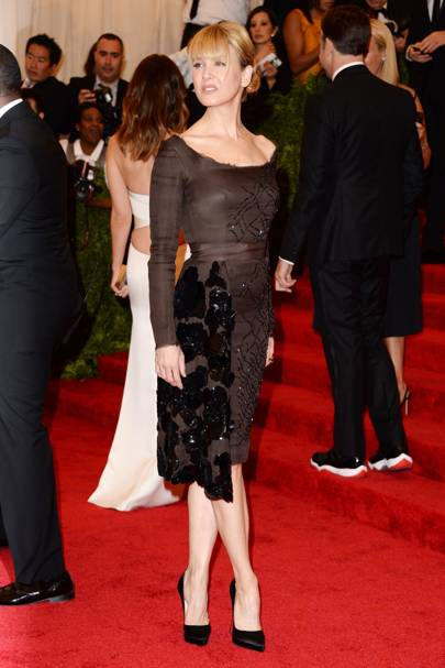Renée Zellweger at the Met Gala