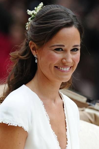 Wedding Hairstyle Kate Middleton : Pippa middletons wedding hairstyle celebrity hair and