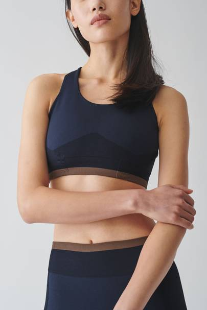 Best gym clothes: the seamless crop top