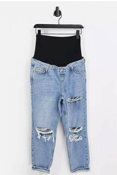 Best Maternity Jeans - Ripped
