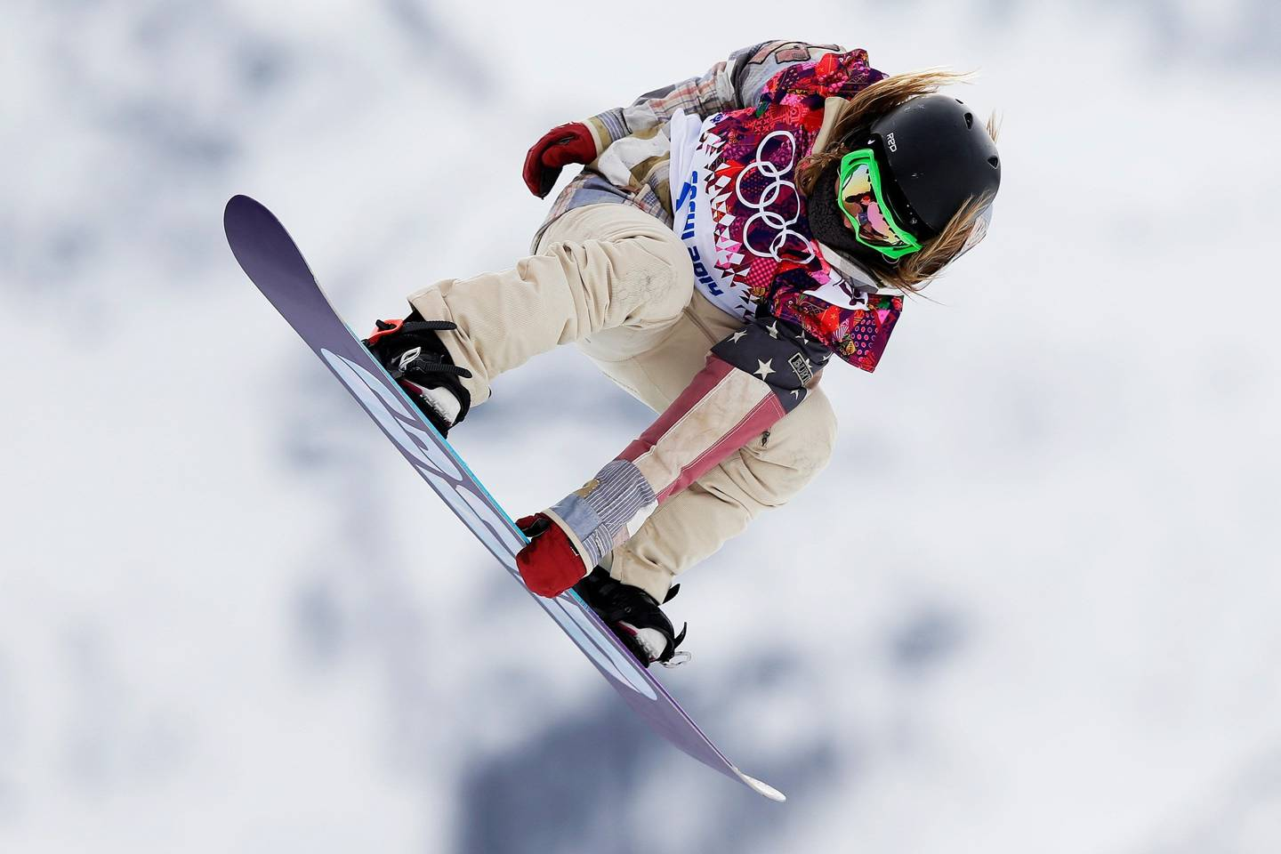 Jamie Anderson Tinder in the Olympic Village Sochi 2014 ...
