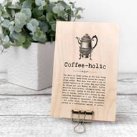 Coffee gifts: the coffee sign