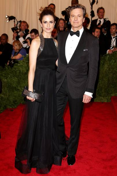 Colin Firth & Livia Firth at the Met Gala