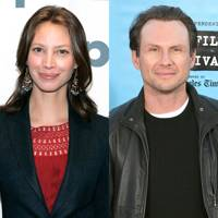 Christy Turlington and Christian Slater